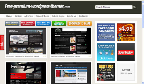 Themes Premium WordPress Gratis