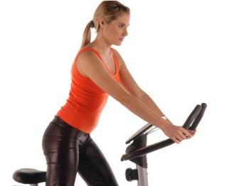 Bajar de peso con bicicleta fija