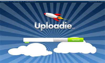 Uploadie, alojamiento de archivos gratis