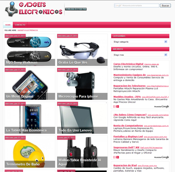 Gadgets electronicos