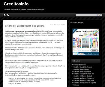 CreditosInfo