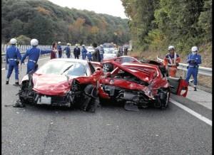 Accidente con autos