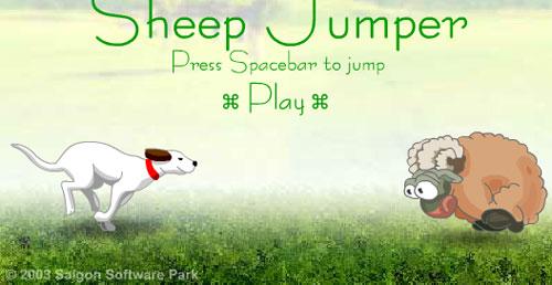 Saltar ovejas