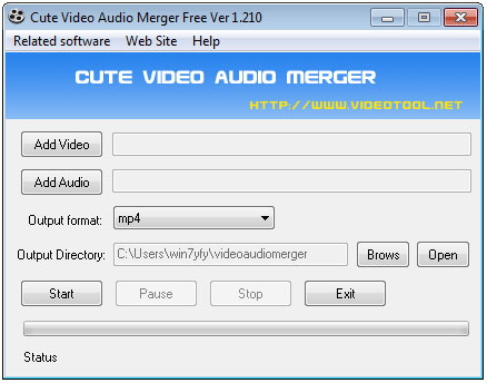 Cute Video Audio Merger
