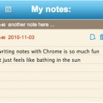 Quickrr notepad: Extensión de Google Chrome de notas
