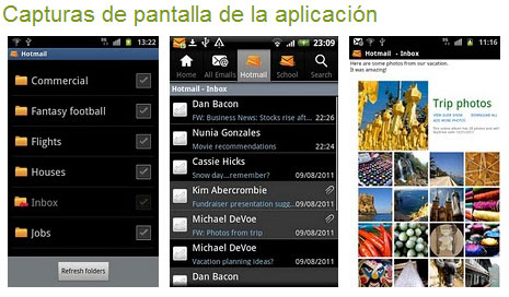 Hotmail para Android