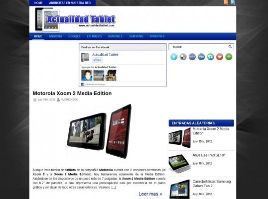 Actualidad Tablet