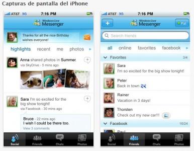 Messenger para iOS