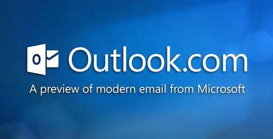 Outlook recicla cuentas