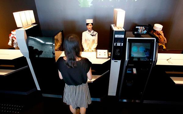 Hotel con robots