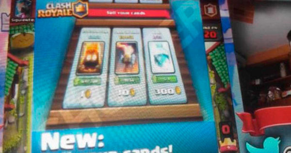 Clash Royale vender cartas
