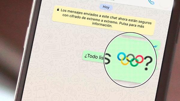 Emoji de los juegos olímpicos