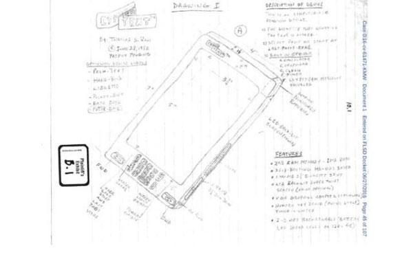 Patente iPhone Florida