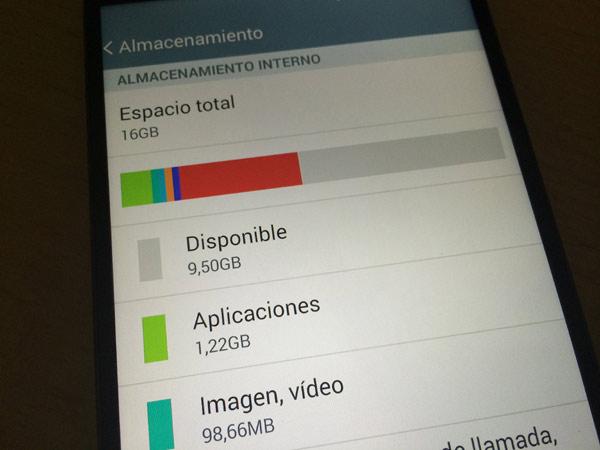 Ahorrar memoria en el celular