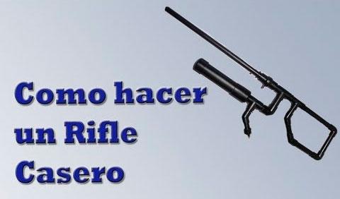 Rifle CO2 casero